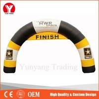2016 Cheap Inflatable Finish Line Arch for Sports Events