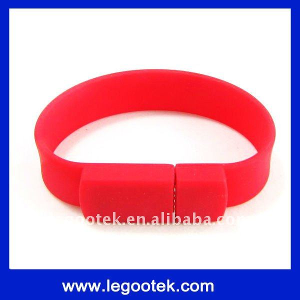 hot sell style/promotion gift/wristband/bracelet shape USB/CE,ROHS,FCC
