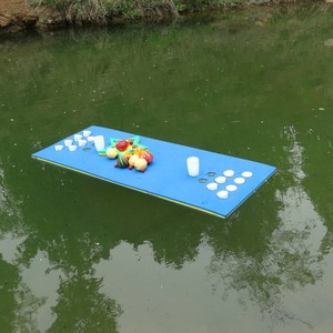 high flotation special material floating pool beer pong table