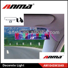 Anma brand sound control light,car decorates auto car led light decorating light