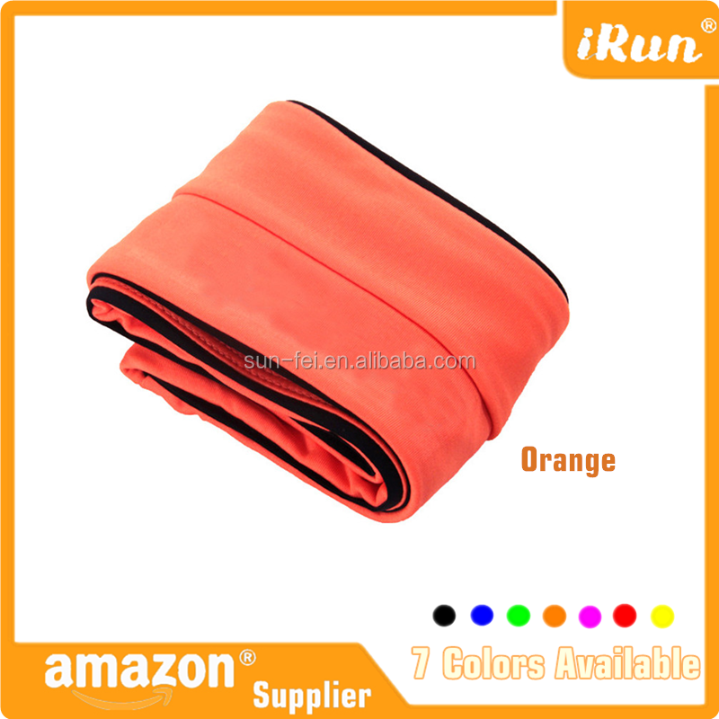 Sports Mobile Phone Cover Case Purse Pouch - Orange Waist Belt Bag for Men & Women - Amazon/eBay Supplier
