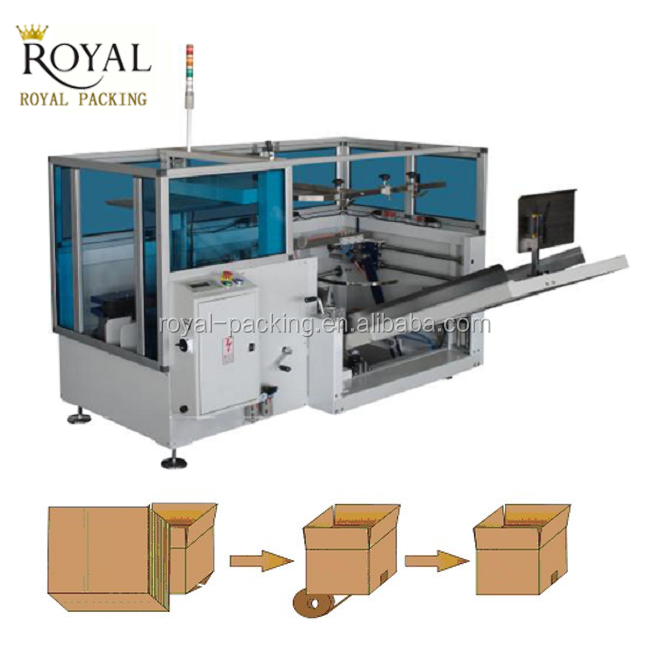 Automatic Case Box Carton Erector and forming machine for sale
