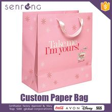 hot sale packaging paper bag happy birthday paper bag