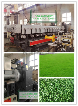 SJ200 / 180 Single Screw Extruder for PP /PE/ABS/PET flake recycle / pp Artificial grass recycle pelletizing / PP, PE recycle