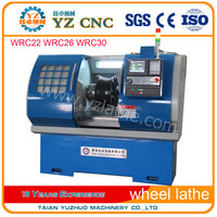 CNC Rim Repair Lathe/ Alloy Wheel Turning Lathe Machine with CE WRC28