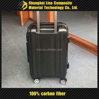 3k Carbon Fiber Luggage Large Suitcase