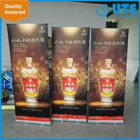 Top grade ukuran roll-up banner
