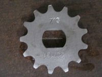 HIGH QUALITY TOMOS Motorcycle sprocket Z13