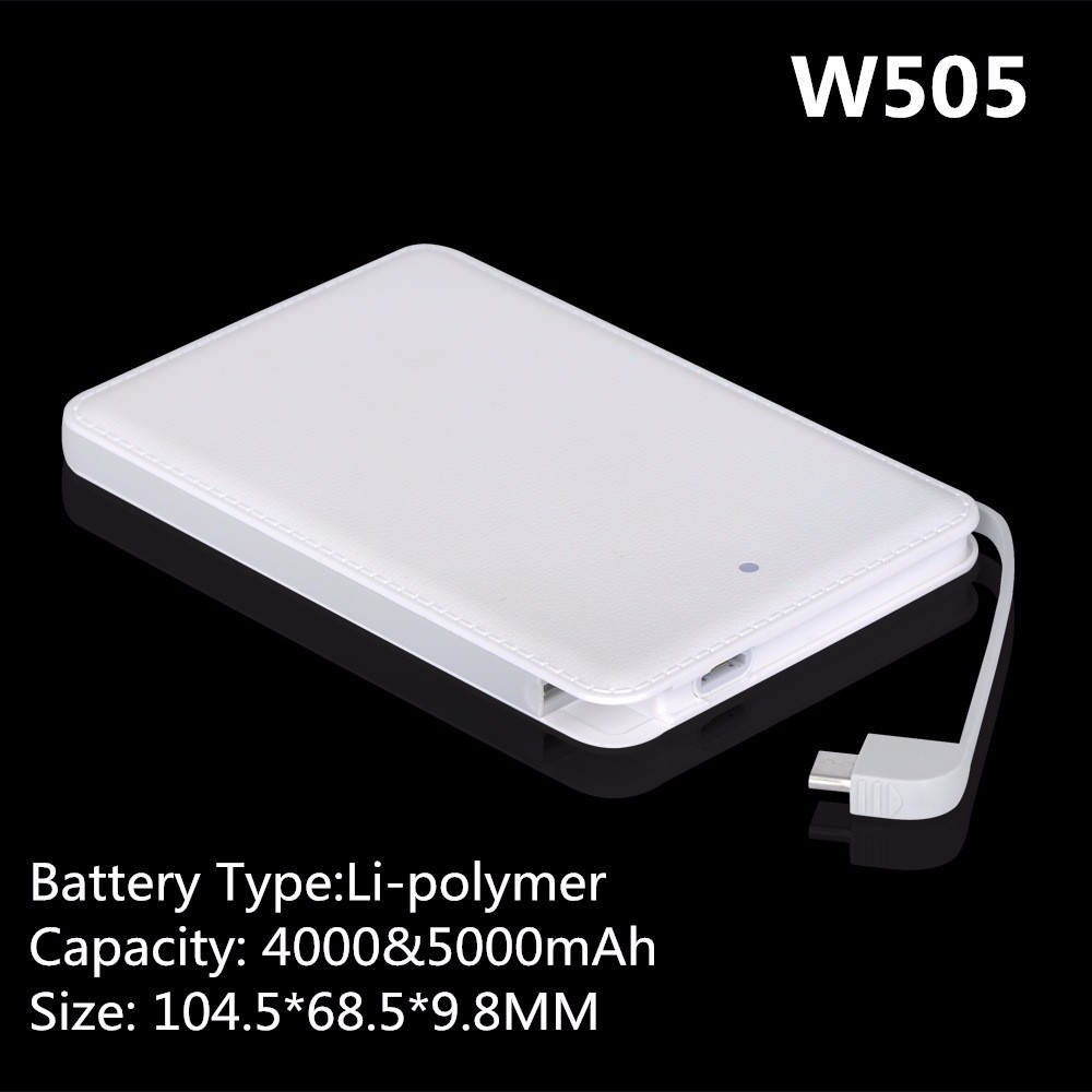 2017 Hot New Products 3.7V 5000mAh Lipo Battery Power Bank 5000mAh for Mobile Phones