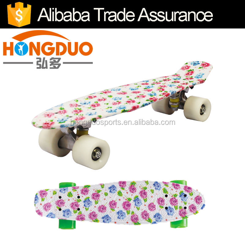 Blank old school skateboard decks fish skateboard