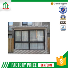 Wanjia dark grey commercial sliding window