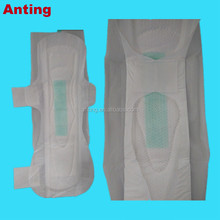 Good Quality Women Cotton Soft Double Wings Anytime Sanitary Napkin Brands India