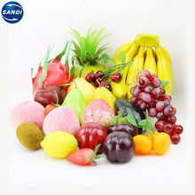 Decoration plastic customized fake fruit and vegetables