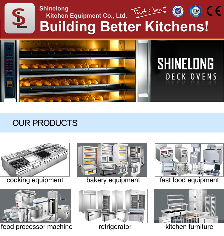 Professional Commercial Industrial Electric/Gas Bread Bakery Equipment Baking Oven Machine Prices For Sale China