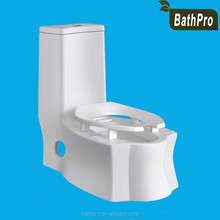 Floor mounted sanitary ware S-trap one piece washdown ceramic toilet