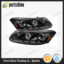 PRO-YD-HA08-4D-HL-BK Head light for Honda Accord