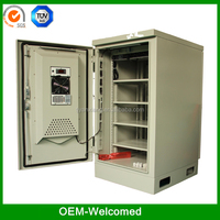 telecom outdoor cabinets battery rack enclosure SK-235