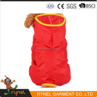 PGPC0037 Wholesale Pet Clothing Waterproof Cute Dog Raincoat For Small Medium Large Dogs