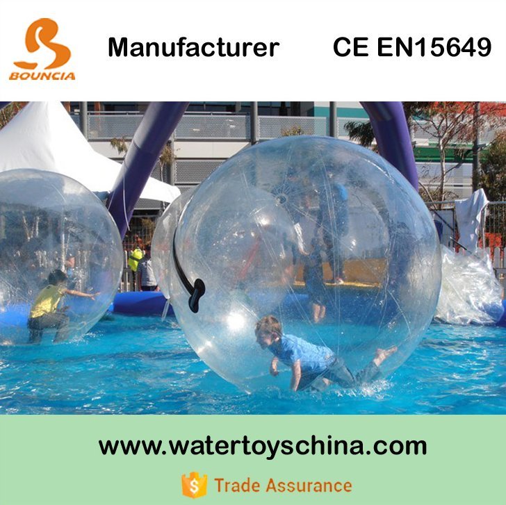 Inflatable Water Ball / Walk On Water Balloon For Water Sports