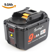 18650 Lithium Ion 18v Lxt 9.0ah Cordless Replacement Makita Battery Bl1890 for Makita Drill