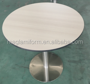 Color core high pressure laminate hpl tables and chairs for restaurant