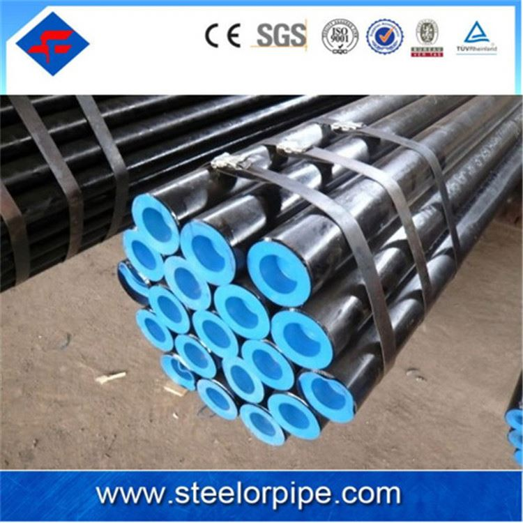 Good API 5L X 52 alloy seamless steel pipe for oil and gas