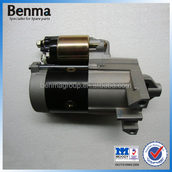 GX620 Go kart starter motor with relay ,Indoor kart starter motor with replay GX620. GX610,GX670 , kart air filter made in China