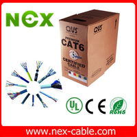 High quality ethernet messenger wire cat5e cables cat6 cable,network cable maker