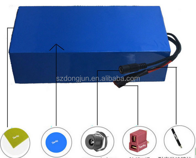 24v 36v 48v electric bike battery high power 18650 10ah li ion battery pack