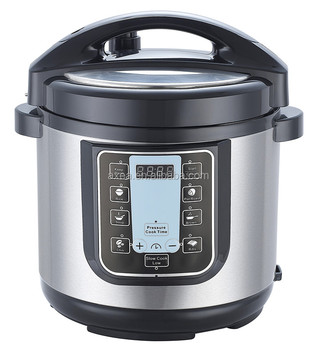 Auto 8L Tall FDA and ETL certificated electric pressure cooker