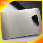High quality stainless steel bottle opener business card