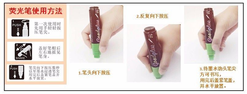Popular Newest Liquid Chalk Marker Pen with Bullet Tip