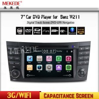 "7"" Car DVD GPS head unit Auto Multimedia for B-enz E-Class W211/ CLS W219 BT IPOD Radio CAN BUS Free GPS map"