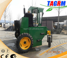 Spraying chemical agent organic waste systems/organic garden waste composter M2600II waste shredder