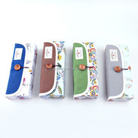 Languo Garden of Eden style paper pencil case / roll up pencil case/ for wholesale Model:LGYD-2627