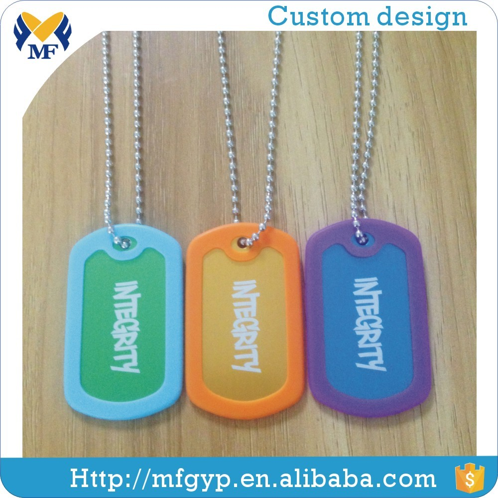 Carimbar logo atacado dog tags militar