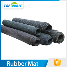 High density noise proof interlocking futsal mats rubber gym flooring