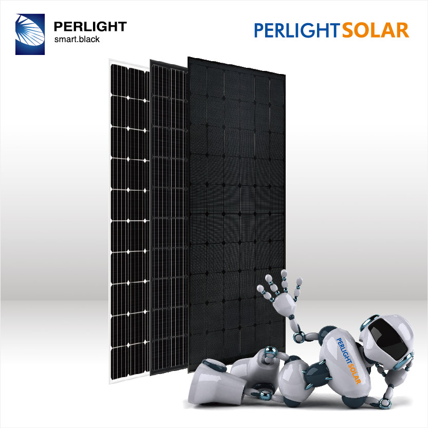 Solarpanel Solarmodul 280 W  24 V SCHWARZ BLACK Edition 24V OFF ON GRID 24Volt
