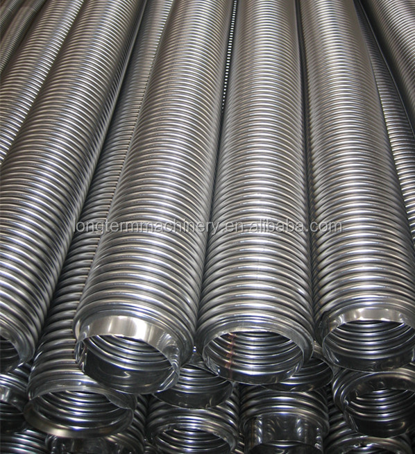 stainless steel corrugated/convoluted flexible metal hose