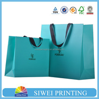 2015 Eco-friendly paper bag packaging with lamination