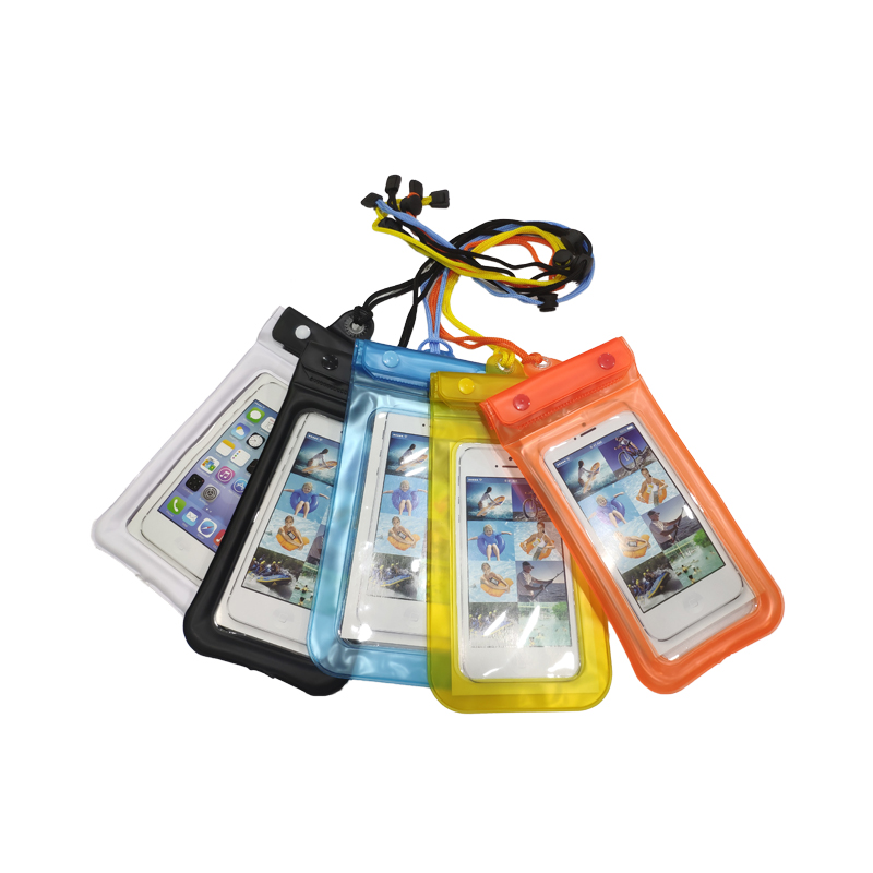 Free Sample Hot Selling Custom PVC Underwater Cell Phone Covers Waterproof Mobile Phone Pouch Bag For Swimming