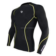 OEM service Protective <strong>Sports</strong> Athletic Long Sleeve Compression Wear for Men