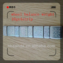 Fine workmanship wheel balance weight / wheel weight / fe 1/4 oz wheel weights