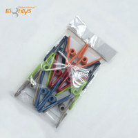 Wholesale of clothes pegs wire encapsulates decorative metal pegs