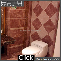 Polished marble purple tiles for floor