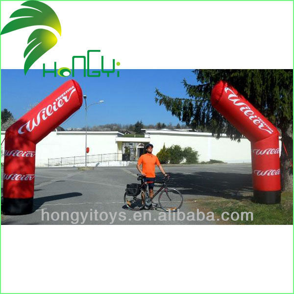 Cheap Inflatable Road Standing Columns Ivan