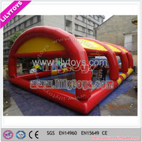 Outdoor Rectangle PVC Large Inflatable Swimming Pool with Tent for Sale