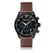 chronograph custom Quartz stainless steel watch water resistant