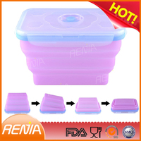 RENJIA foldable storage container,food storage,bento box