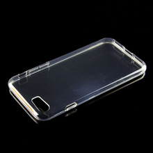 Transparent slim tpu case for huawei y300/u8833